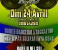 Soiree Dancehall/Reggaeton avec Selekta Faya Gong. Le 24 Avril 2011 Au Bar/Pub