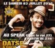Taïro, Datsé. warm-up par Selekta Puppariko au Speak de Bois le Roi le 3 Juillet 2010.